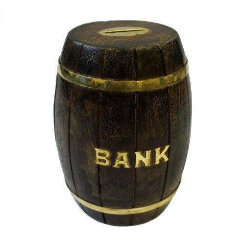 Barrel Money Box
