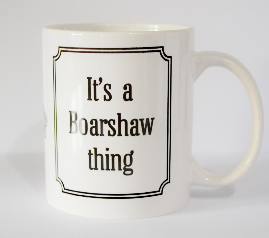Boarshaw 'Thing' Mug