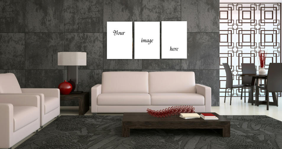 Personalised triptychs (large)