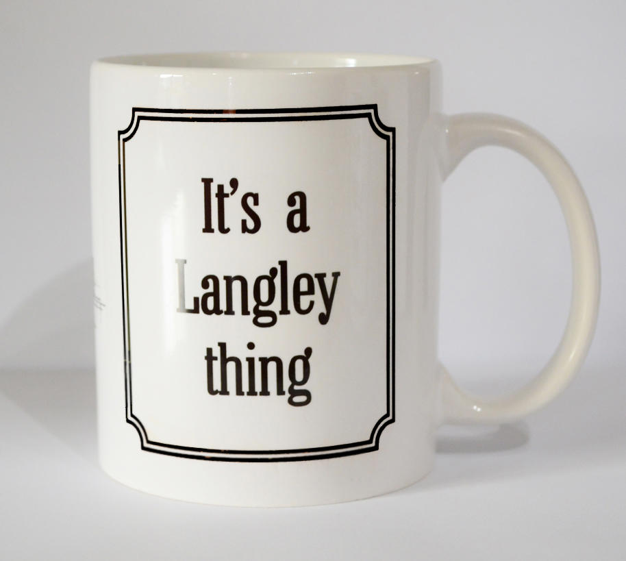 Langley 'Thing' Mug (SECOND)