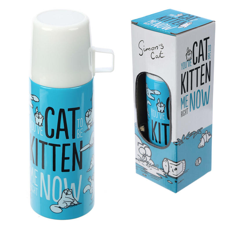 Simon's Cat Funky Flask