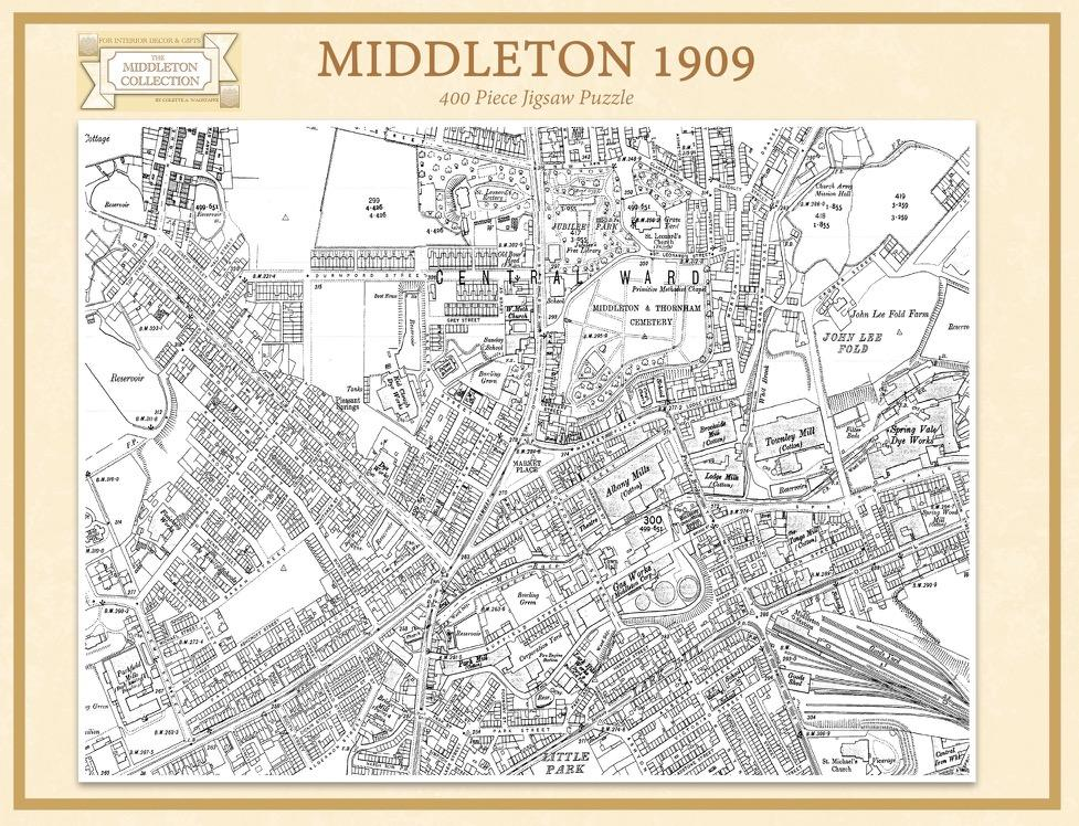 Middleton in 1909 400 pc Jigsaw Puzzle