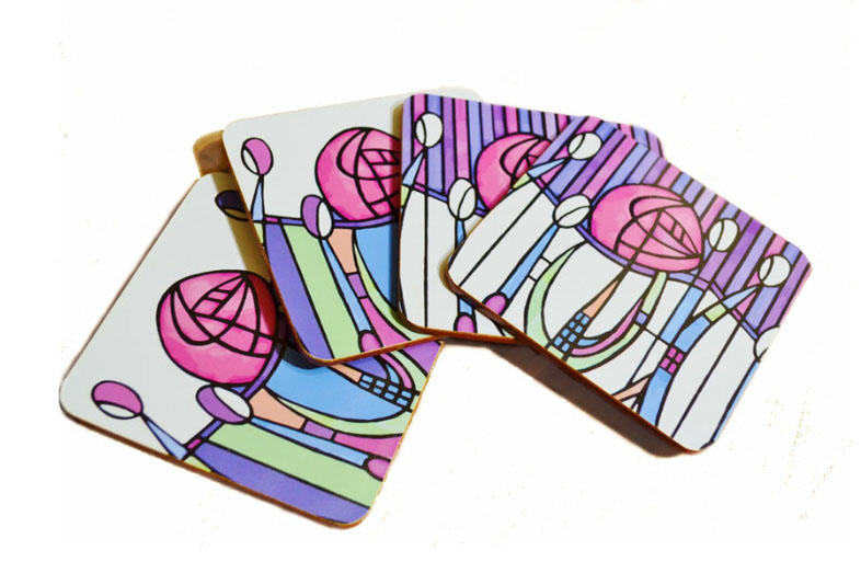 Mackintosh Set of Four Coasters