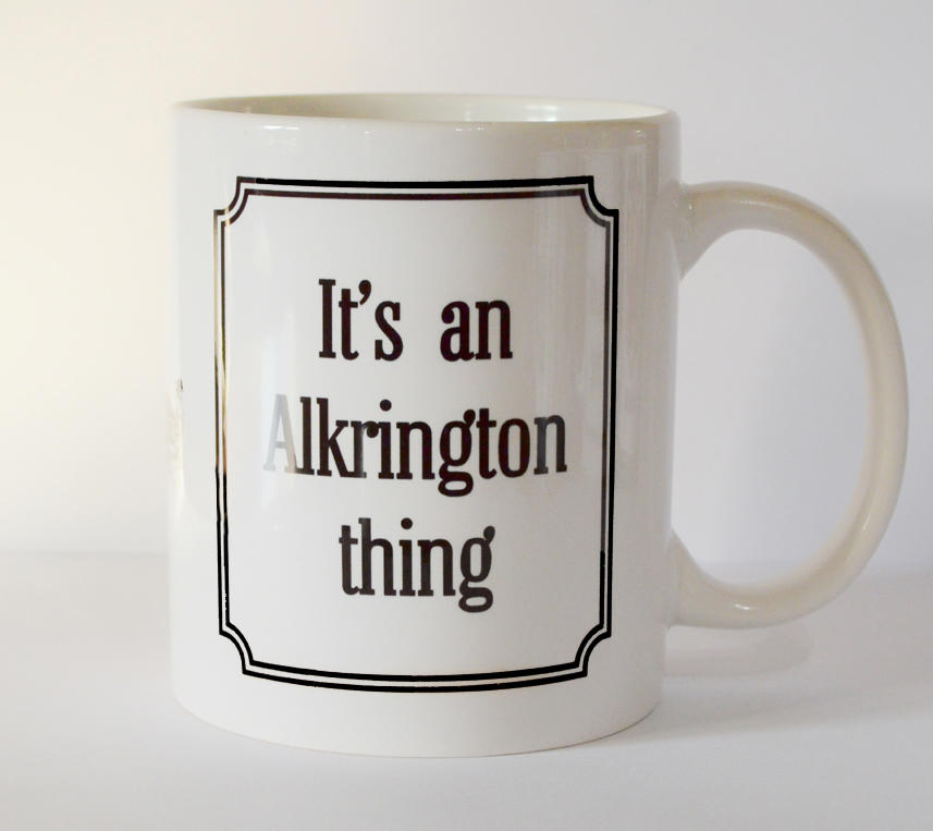 Alkrington 'Thing' Mug (SECOND)