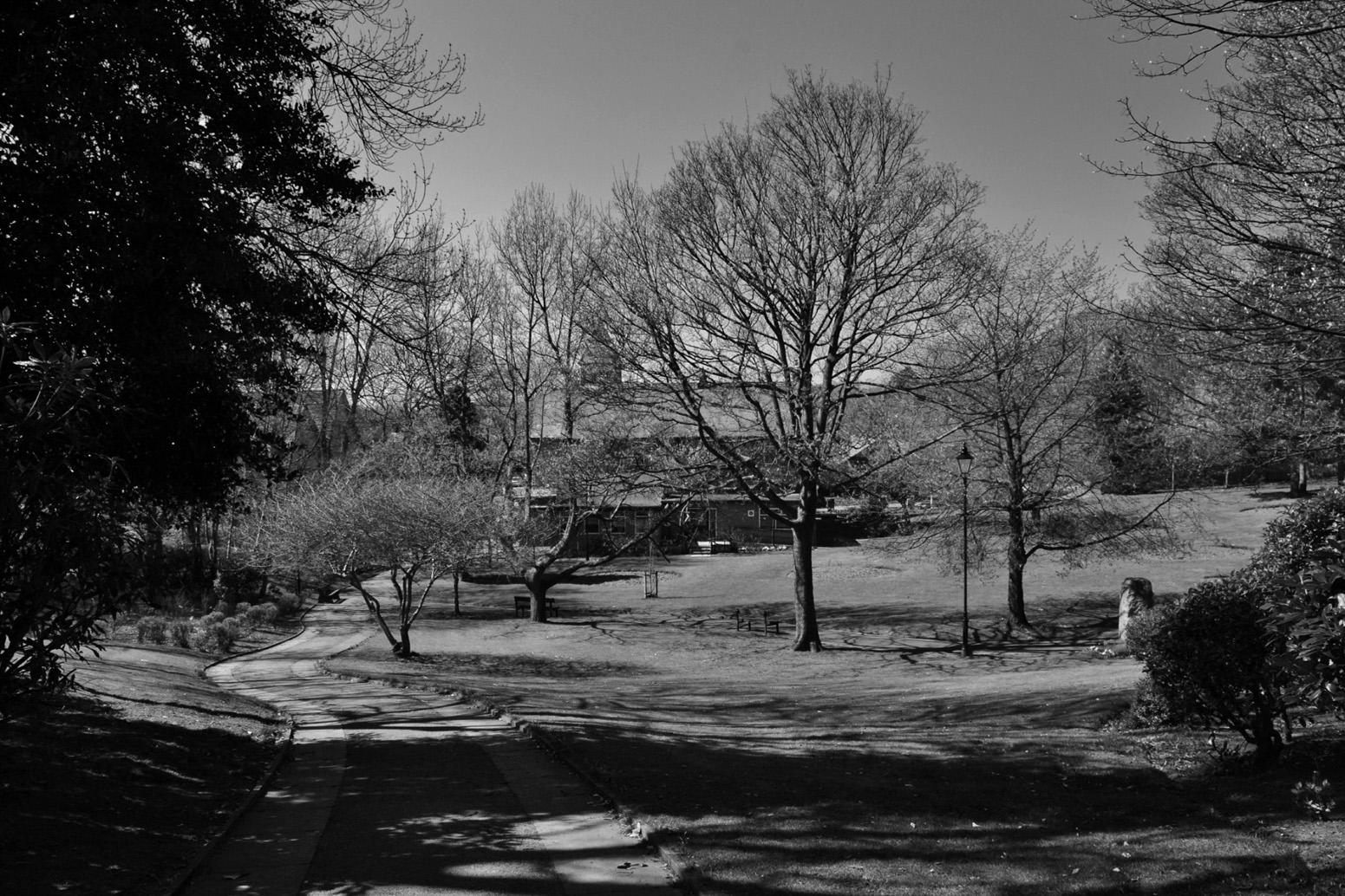 Jubilee Park in Black & White