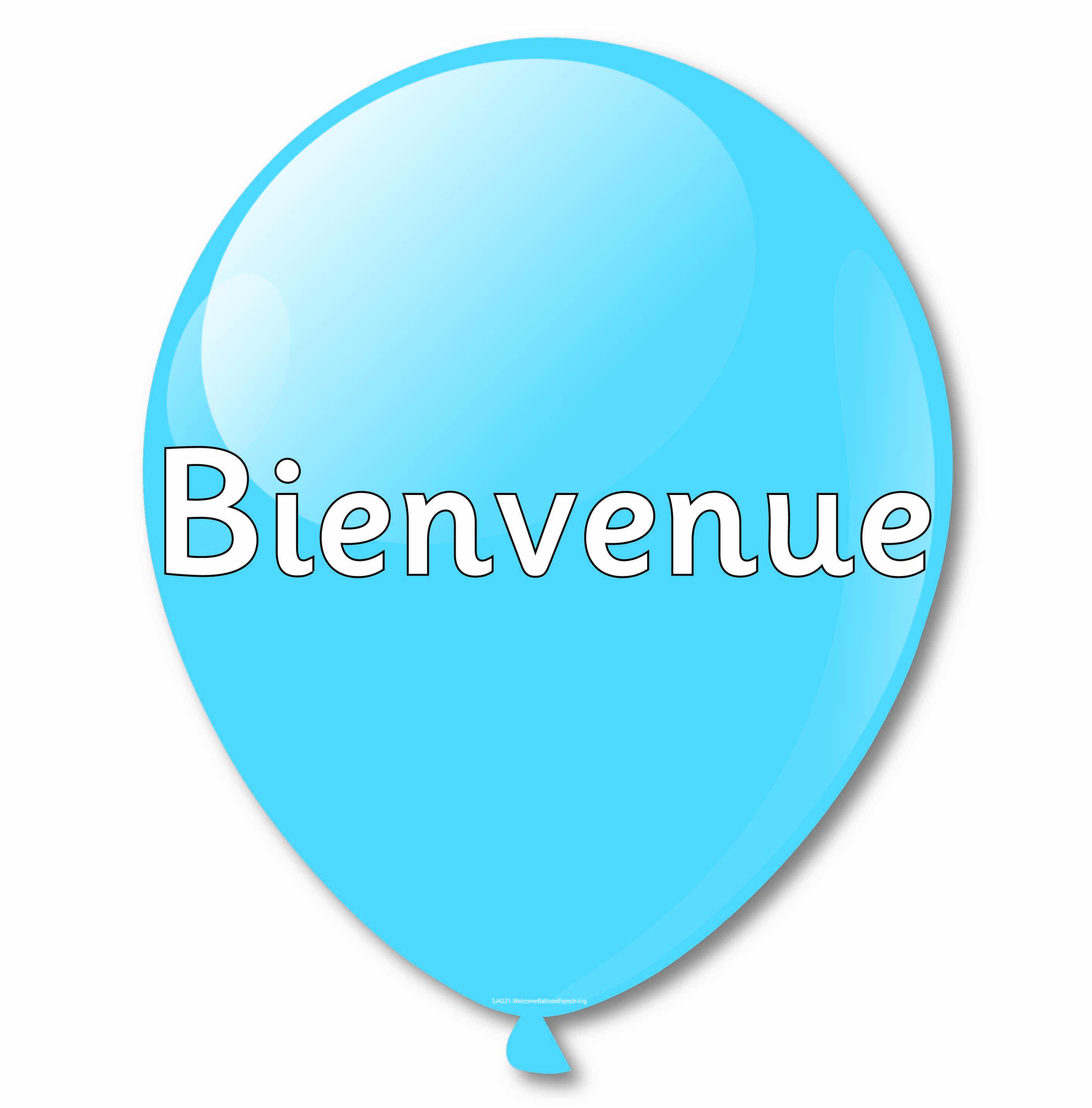 Multi Language Welcome Balloons