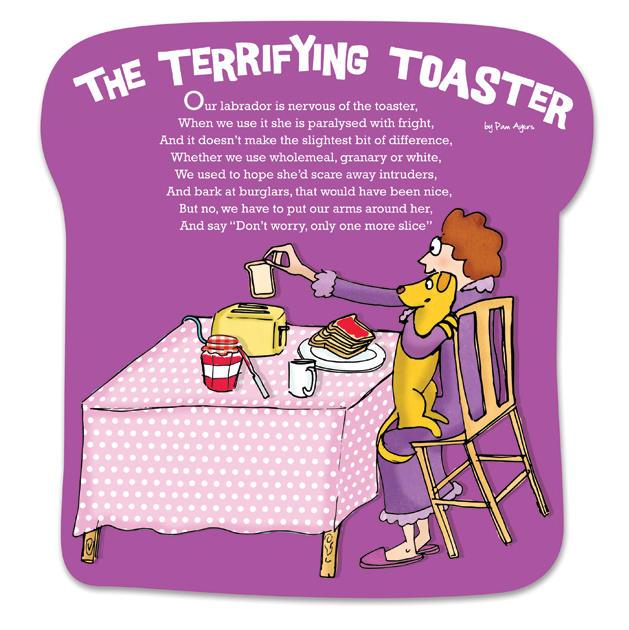 Pam Ayres Terrifying Toaster