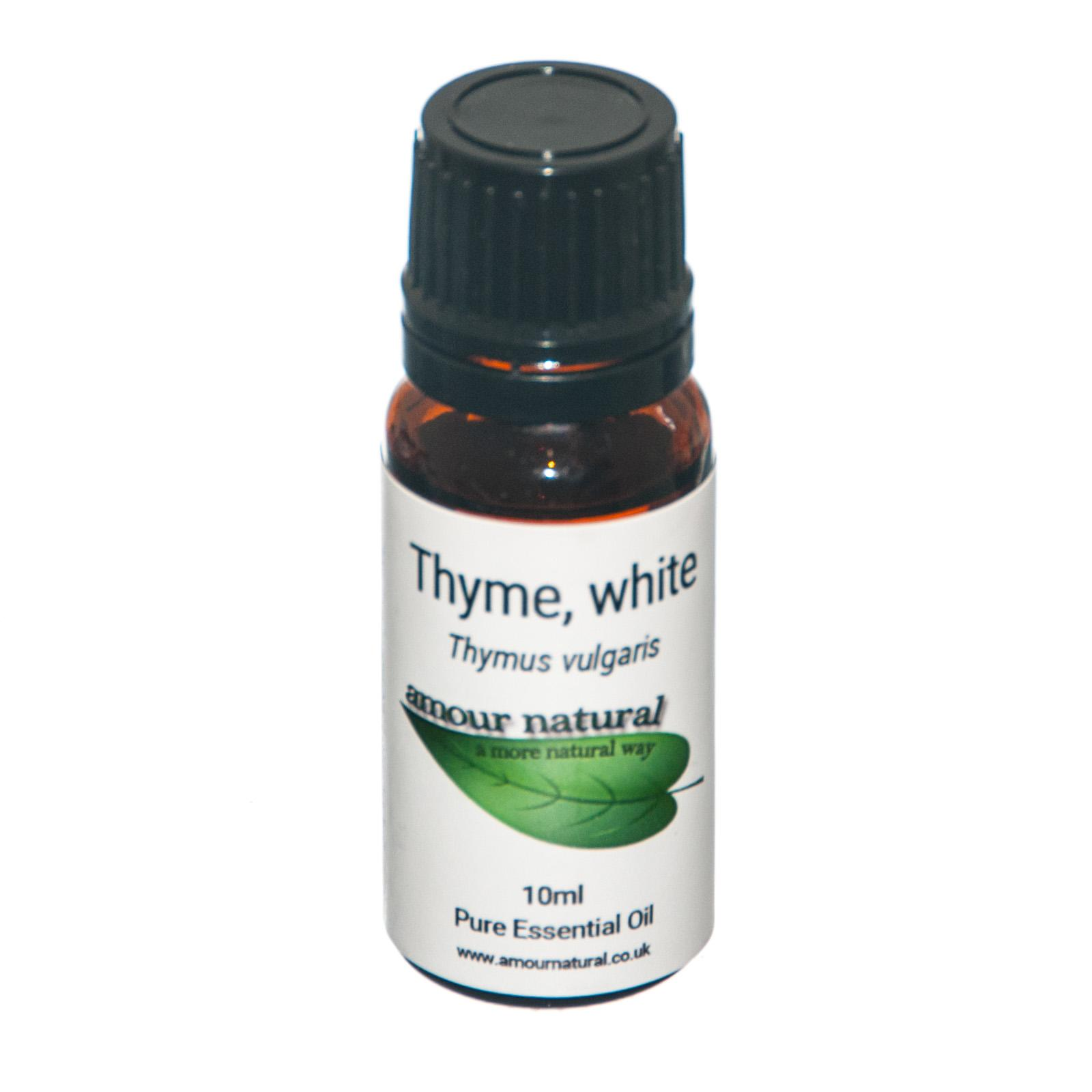 1 x 10 ml bottle of  Thyme (White) Essential Oil