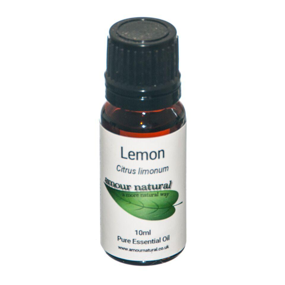 1 x 10 ml Bottle of Lemon Essential Oil