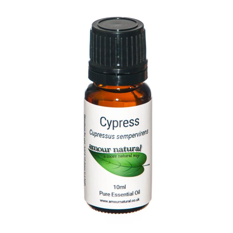 1 x 10 ml bottle of Cypress Essential Oil