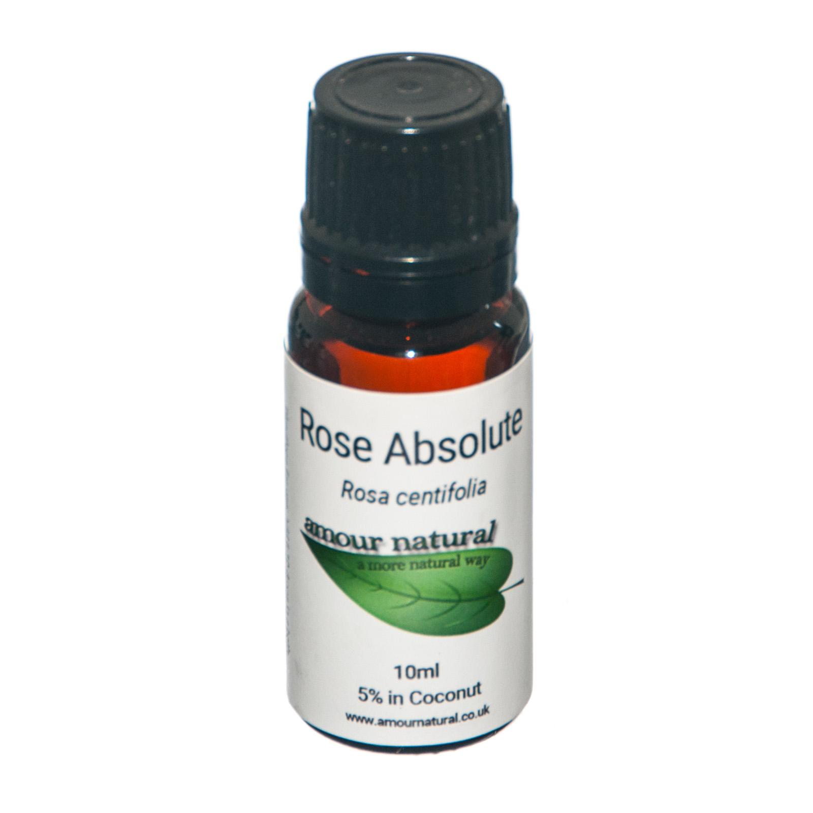 1 x 10 ml bottle of Rose Absolute 5% Essential Oil