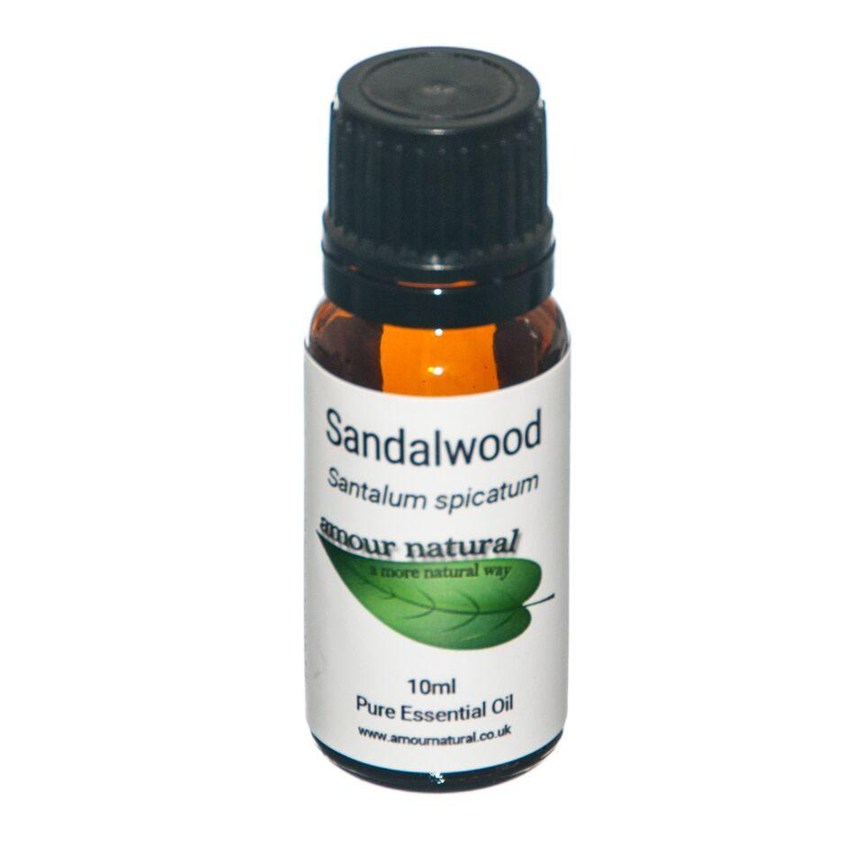 1 x 10 ml Bottle of Sandalwood Essential Oil