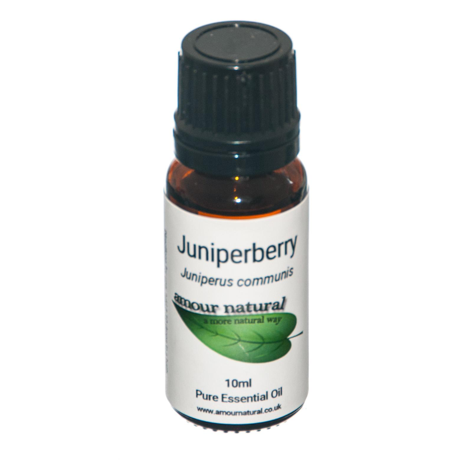 1 x 10 ml bottle of  Juniperberry Essential Oil