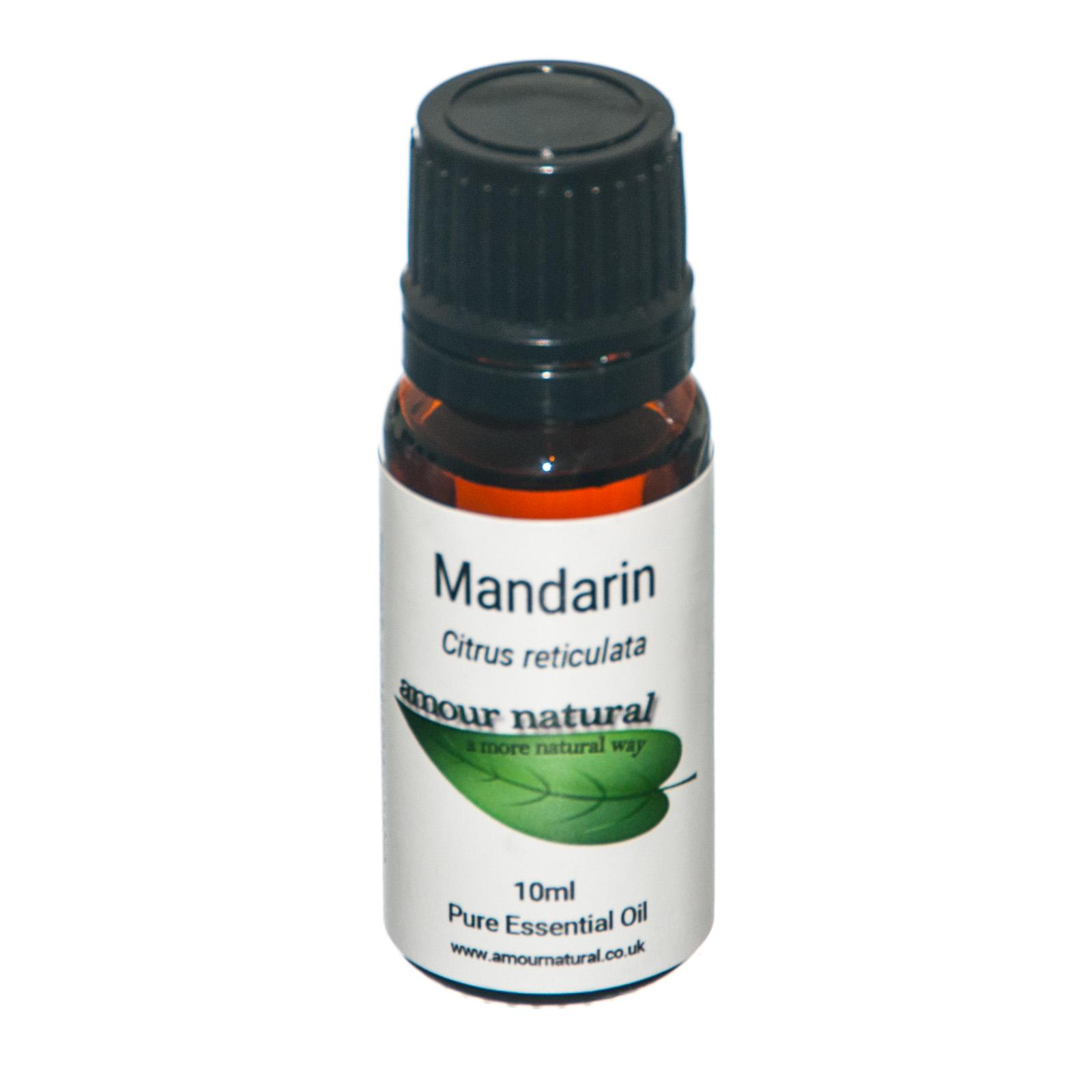 1 x 10 ml bottle of  Mandarin Essential Oil