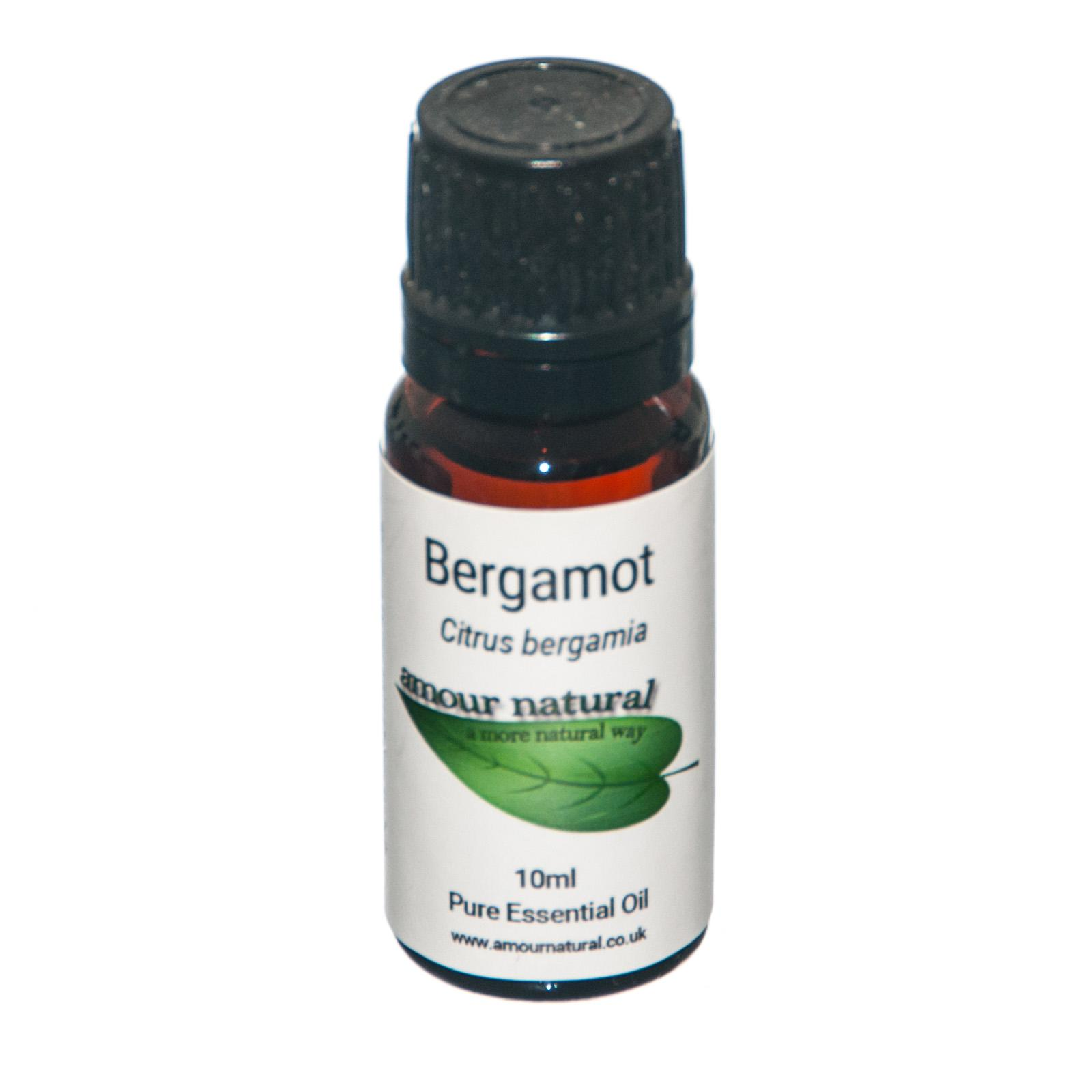 1 X 10 ml bottle of Bergamot Essential Oil