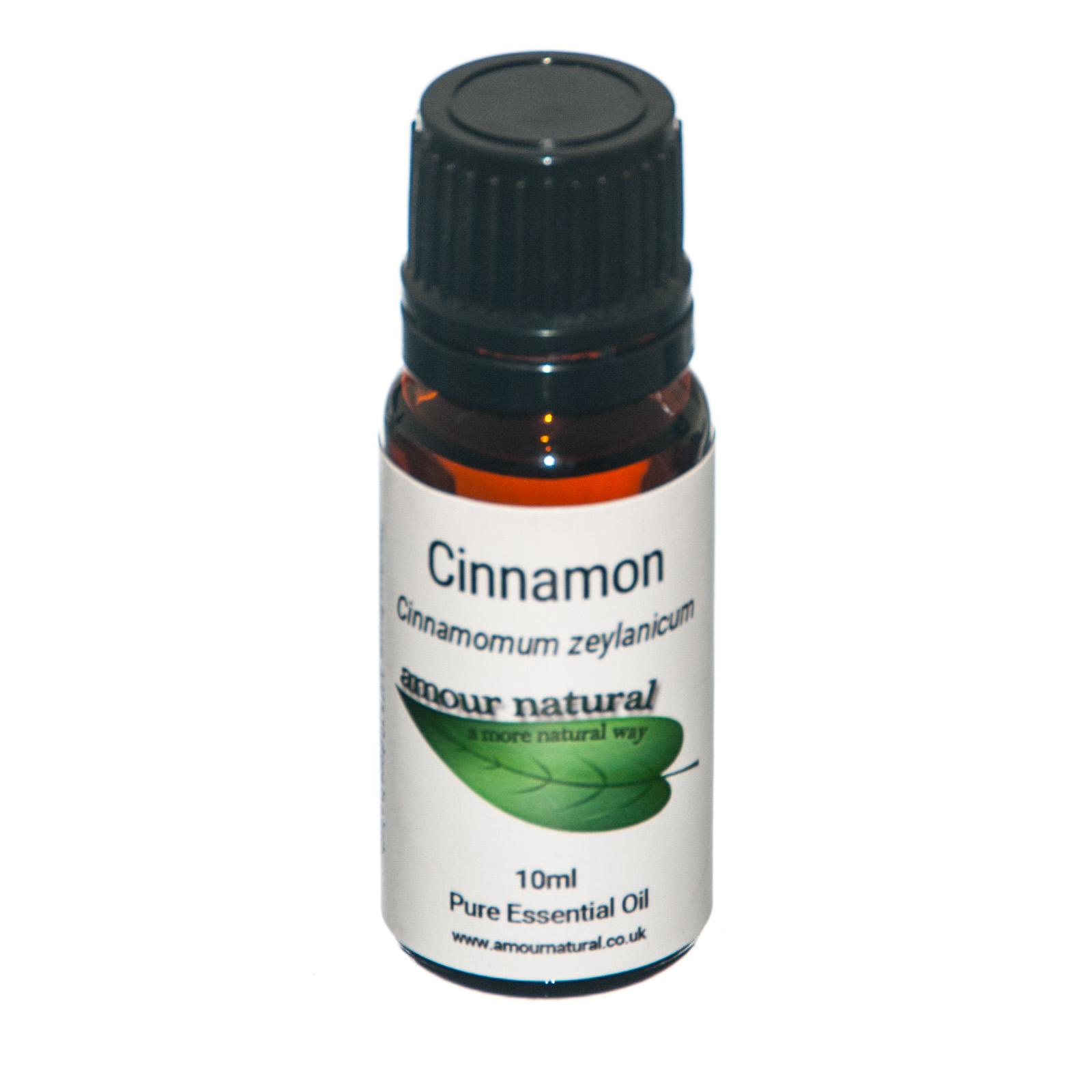 1 X 10 ml bottle of Cinnamon Essential Oil