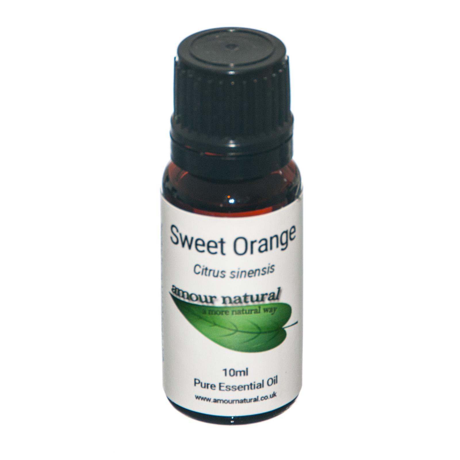 1 x 10 ml bottle of  Sweet Orange Essential Oil