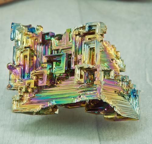 Bismuth Hopper Crystal