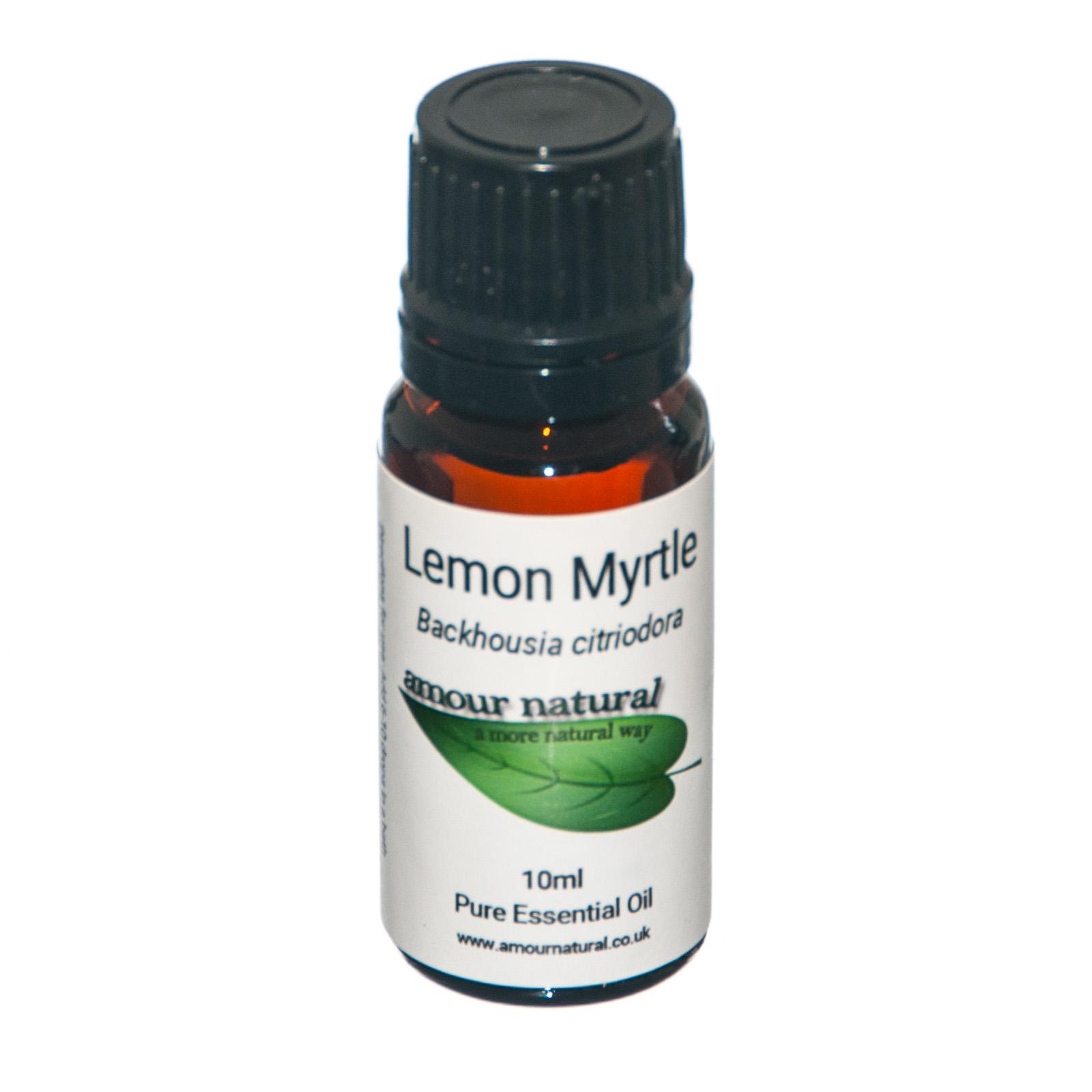 1 x 10 ml bottle of  Lemon Myrtle Essential Oil