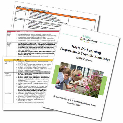 Scientific Knowledge Bundle - Primary science assessment