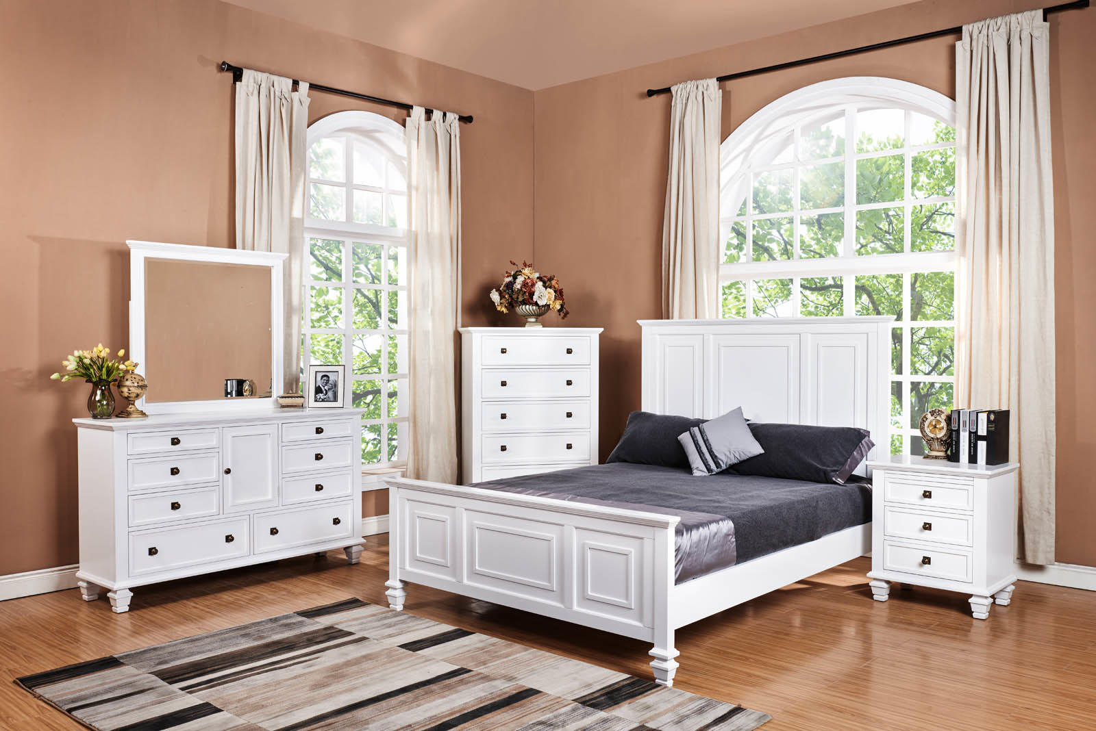 Solid Wood White Bedroom Furniture White Bedroom Furniture