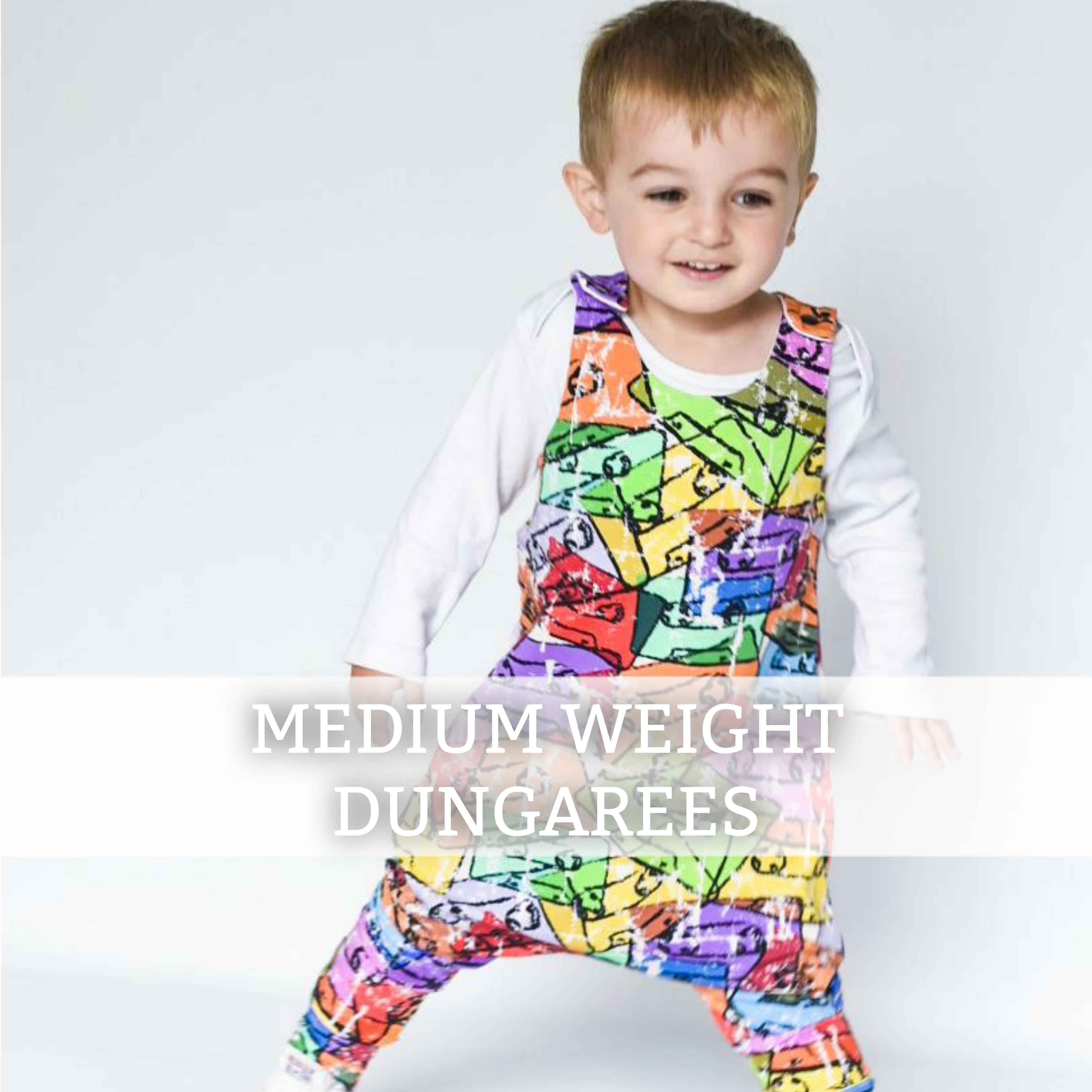 Medium Weight Dungarees