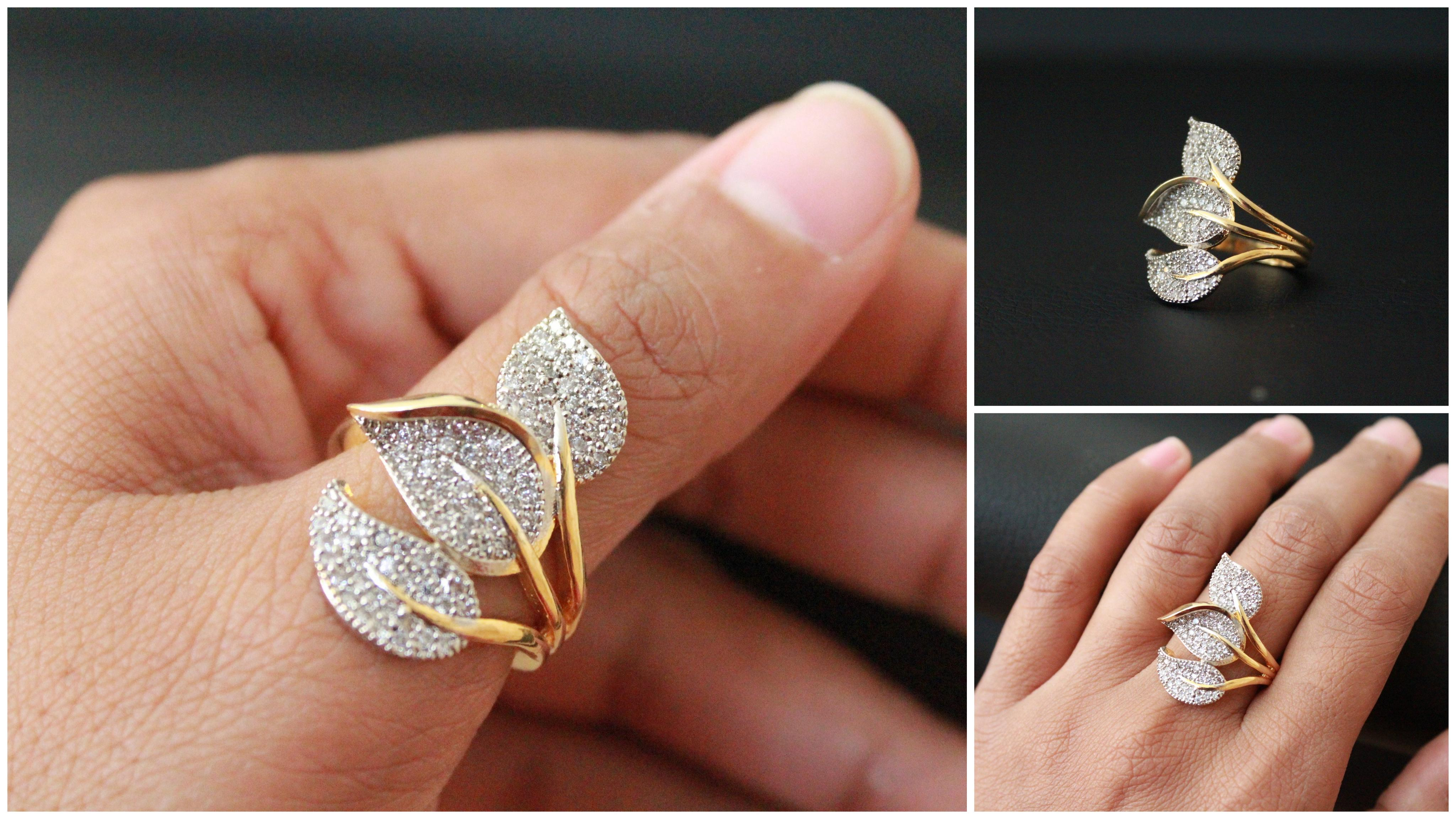 Unique Male Wedding Ring On Middle Finger