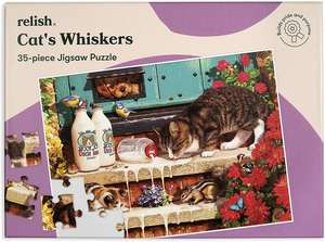 Jigsaw Puzzles 35 Piece - Cat's Whiskers