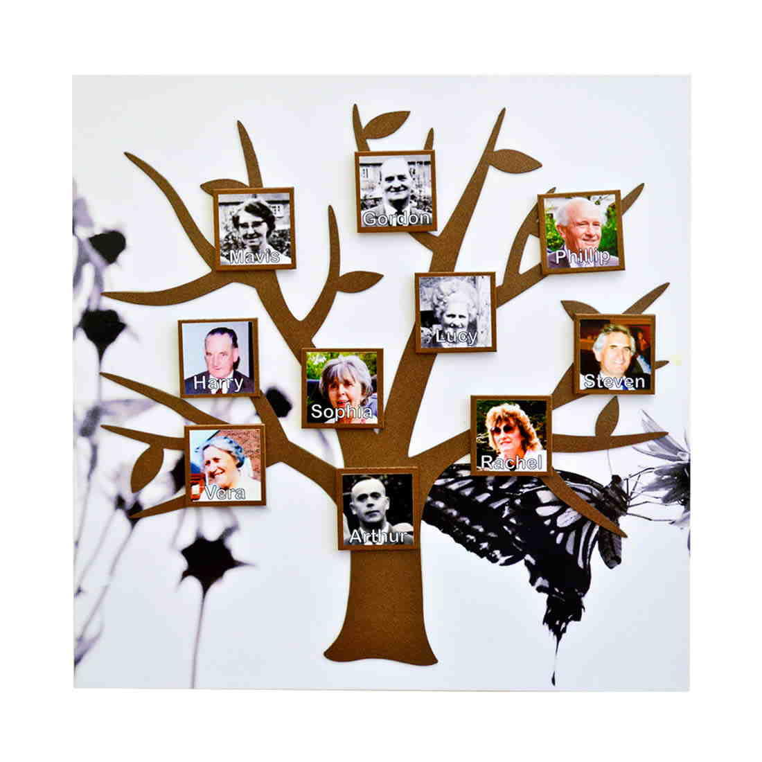 Memory Tree Magnetic Photo Frame