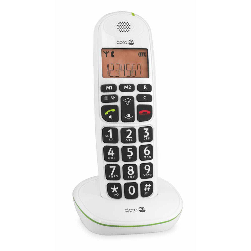 Doro 100w Big Button Cordless Telephone