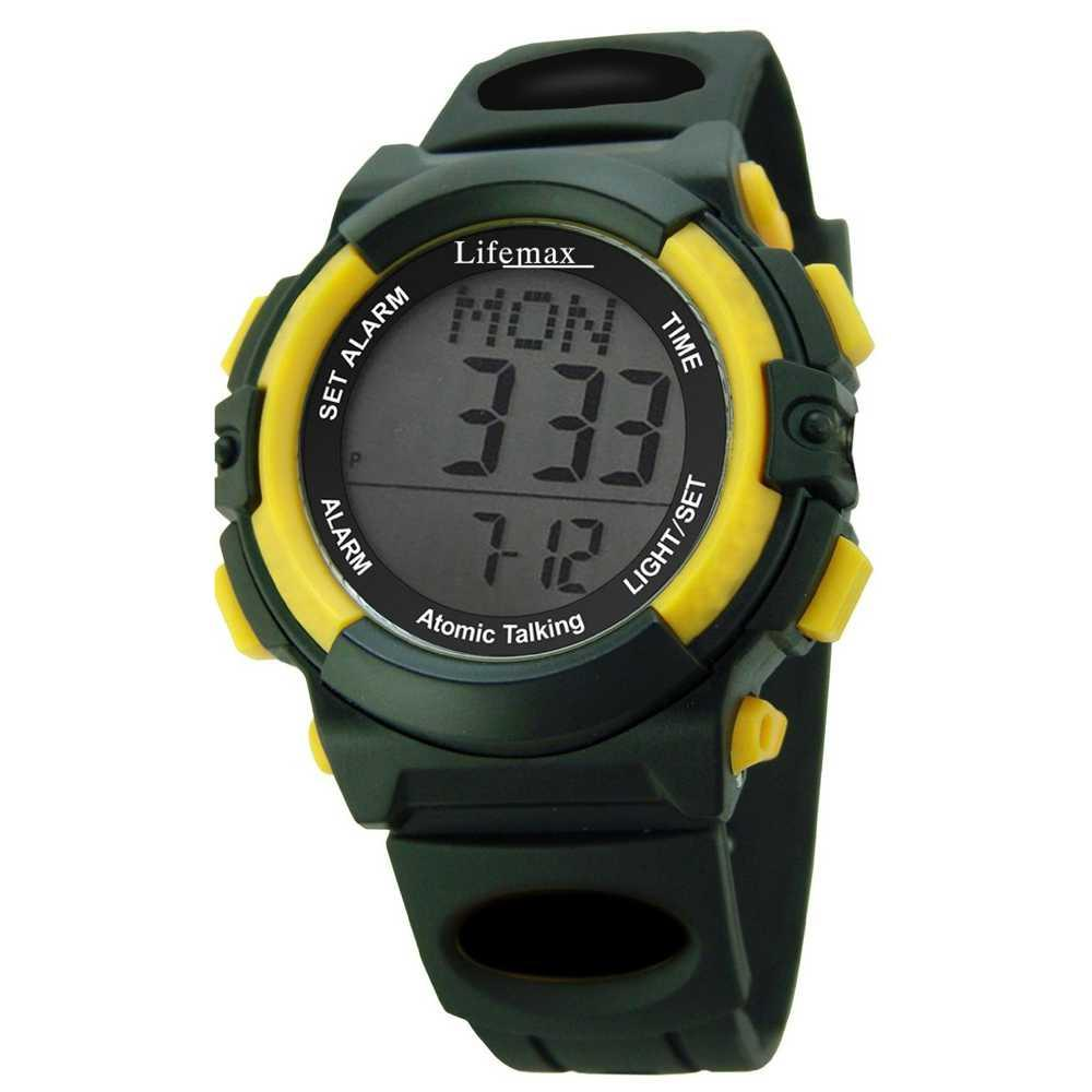 Talking Atomic Digital Watch by Lifemax