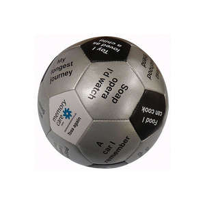 Throw and Tell Activity Ball