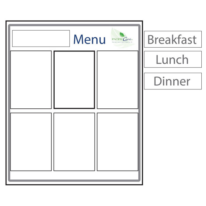 Menu Board Type 3