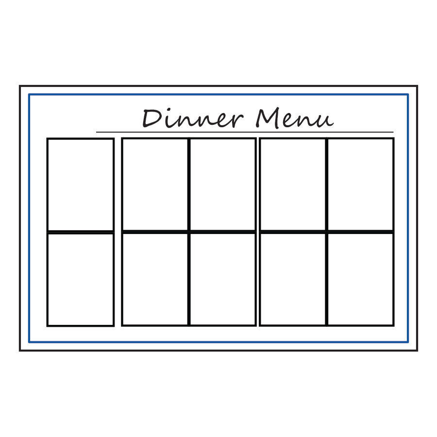 Menu Board Type 4