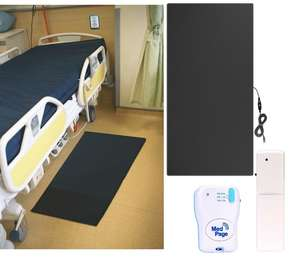 Heavy Duty Non-Slip Floor Mat with Transmitter & Pager - Complete Kit