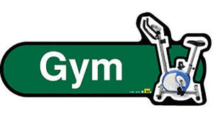Gym Sign inGreen