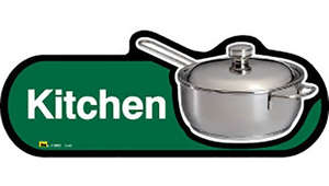 Kitchen Sign inGreen