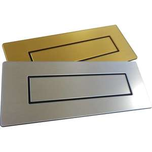 Letterbox - Self-Adhesive Decorative Letterbox