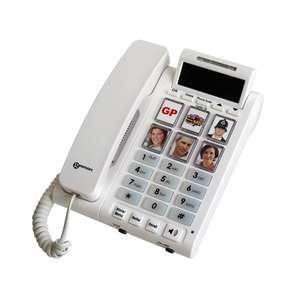 PhotoPhone 450 Phone with Photo ID & Flashing Buttons