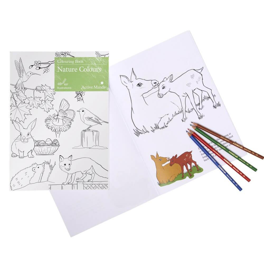 Colouring Book - Nature Colours