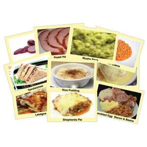 Set of 240 Image Cards for Picture Menu Boards