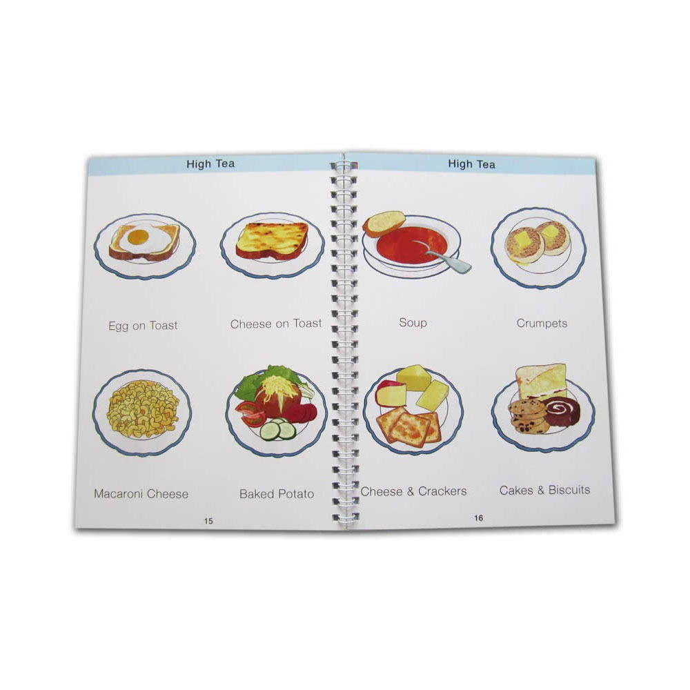 Care Home Menu Book