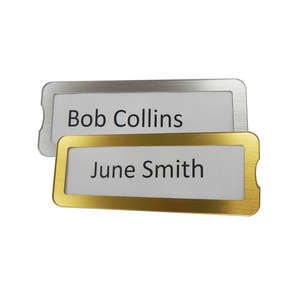 Interchangeable Name Plate