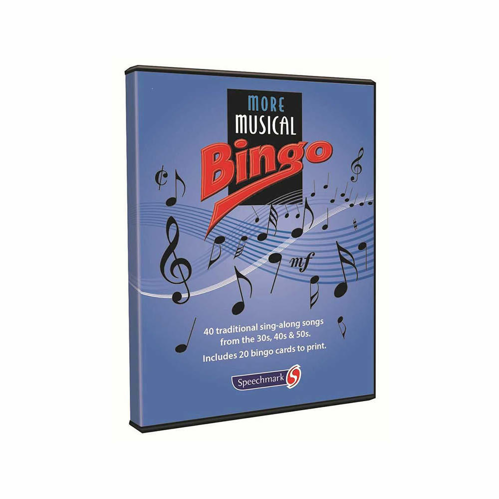 More Musical Bingo Game & CD