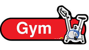 Gym Sign inRed