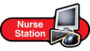Nurse Station Sign inRed