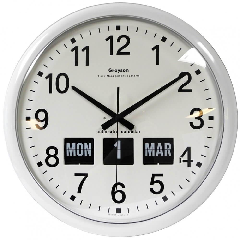 Large Automatic Calendar Clock