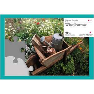 13 Piece Jigsaw Puzzle - Wheelbarrow
