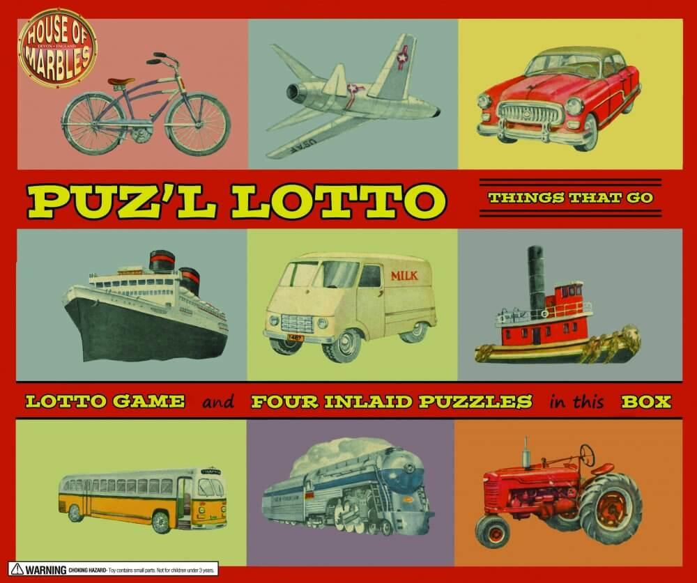 Puzzle Lotto - Retro Game