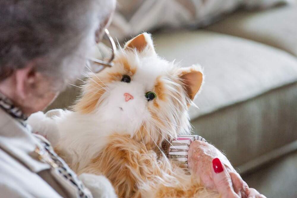 Companion Pet Tabby Cat - Joy For All